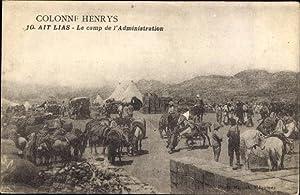 Ansichtskarte / Postkarte Colonne Henrys, Ait Lias,