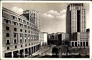 Ansichtskarte / Postkarte Genova Genua Ligurien, Via
