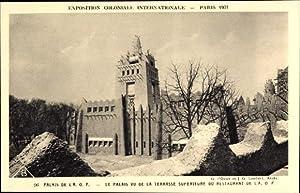 Ansichtskarte / Postkarte Paris, Expo Weltausstellung 1931,