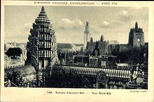 Ansichtskarte / Postkarte Paris, Expo, Weltausstellung 1931,