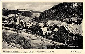 Ansichtskarte / Postkarte Kleinschmalkalden Floh Seligenthal, Gesamtansicht