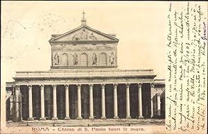 Ansichtskarte / Postkarte Roma Rom Lazio, Chiesa