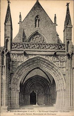 Ansichtskarte / Postkarte Dol de Bretagne Ille