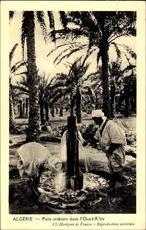 Ansichtskarte / Postkarte Algerien, Puits artesien dans