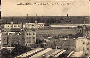 Ansichtskarte / Postkarte Alexandria Ägypten, View of