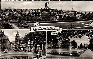 Ansichtskarte / Postkarte Korbach in Hessen, Panorama,