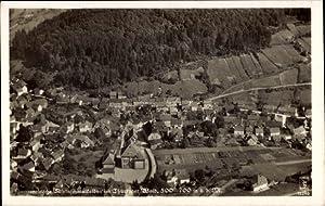 Ansichtskarte / Postkarte Kleinschmalkalden Floh Seligenthal, Fliegeraufnahme