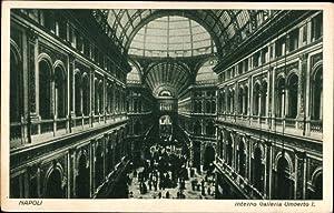Ansichtskarte / Postkarte Napoli Neapel Campania, Interno