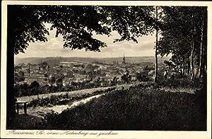 Ansichtskarte / Postkarte Roßwein Sachsen, Blick vom
