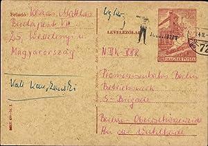 Ganzsache Ansichtskarte / Postkarte Magyar Posta, 40