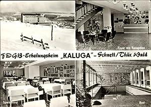 Ansichtskarte / Postkarte Schnett Masserberg im Thüringer