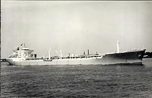 Foto Ansichtskarte / Postkarte Tankschiff, Tanker Acina,