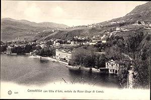 Ansichtskarte / Postkarte Cernobbio Lombardei Italien, Villa