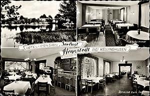 Ansichtskarte / Postkarte Hennstedt b. Kellinghusen, Hotel