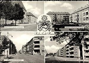 Wappen Ansichtskarte / Postkarte Halberstadt in Sachsen