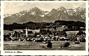 Ansichtskarte / Postkarte Lechbruck i. Allgäu, Totalansicht