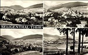 Ansichtskarte / Postkarte Floh Seligenthal Thüringen, Panoramablick