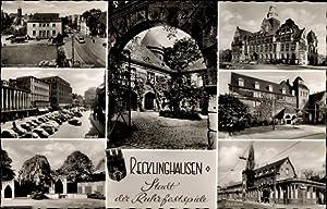 Ansichtskarte / Postkarte Recklinghausen im Ruhrgebiet, Markt,