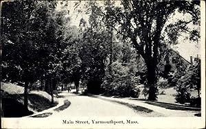 Ansichtskarte / Postkarte Yarmouthport Massachusetts, View along