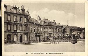 Ansichtskarte / Postkarte Montmédy Lothringen Meuse, Place