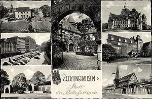 Ansichtskarte / Postkarte Recklinghausen im Ruhrgebiet, Rathaus,