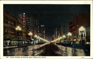 Ansichtskarte / Postkarte Salt Lake City Utah