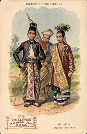 Litho Malaysia, History of the costume, Japanese