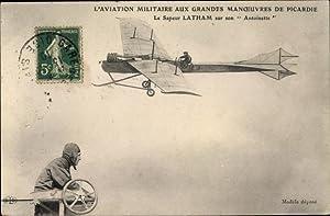 Ansichtskarte / Postkarte L'Aviation Militaire aux Grandes