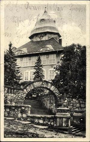 Ansichtskarte / Postkarte Hollabrunn Niederösterreich, Gendarmerie Schule