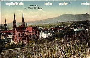 Ansichtskarte / Postkarte Obernai Oberehnheim Bas Rhin,