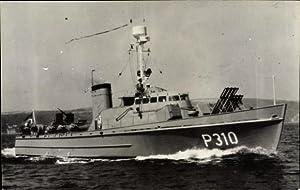 Foto Ansichtskarte / Postkarte Türkisches Kriegsschiff, P310,