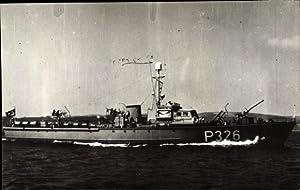 Foto Ansichtskarte / Postkarte Türkisches Kriegsschiff, P326,