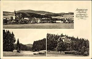 Ansichtskarte / Postkarte Langewiesen Thüringer Wald, Lohmetal