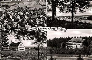 Ansichtskarte / Postkarte Rodt Loßburg Schwarzwald, Müttererholungsheim,