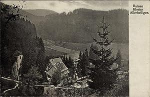 Ansichtskarte / Postkarte Oppenau im Ortenaukreis, Ruinen