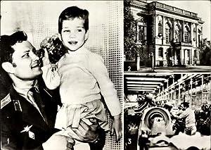 Ansichtskarte / Postkarte Deutsch Sowjetische Freundschaft, Maschinenfabrik,
