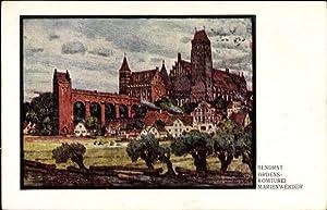 Künstler Ansichtskarte / Postkarte Bendrat, Kwidzyn Marienwerder