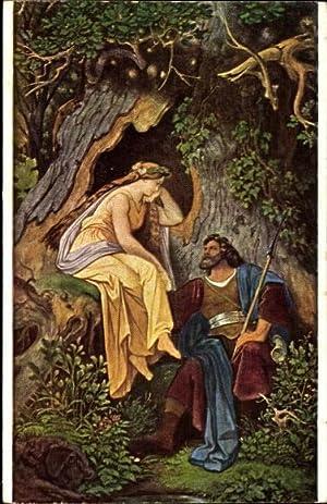 Künstler Ansichtskarte / Postkarte Schwind, M. von,