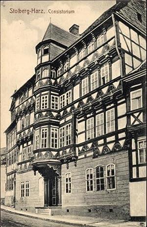 Ansichtskarte / Postkarte Stolberg Südharz, Blick auf