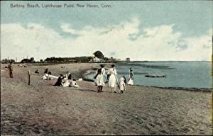 Ansichtskarte / Postkarte New Haven Connecticut USA,