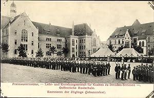 Ansichtskarte / Postkarte Dresden Ost Striesen, Freimaurerinstitut,