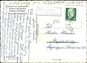 Ansichtskarte / Postkarte Landpoststempel Kienbaum über Strausberg