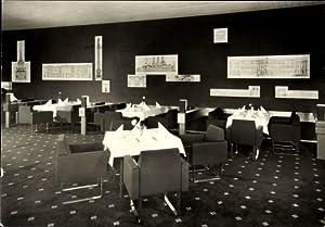 Ansichtskarte / Postkarte Dresden, Interhotel Newa, Restaurant