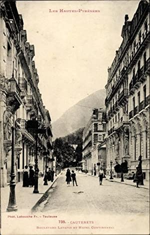 Ansichtskarte / Postkarte Cauterets Hautes Pyrénées, Boulevard