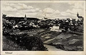 Ansichtskarte / Postkarte Holzappel, Panoramaansicht Ort, Felder,