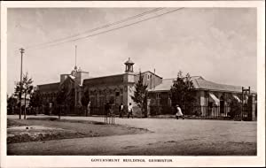 Ansichtskarte / Postkarte Germiston Südafrika, Government Buildings,