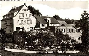 Ansichtskarte / Postkarte Lindenfels in Hessen, Gasthaus