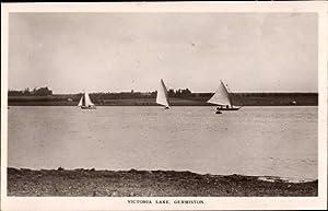 Ansichtskarte / Postkarte Germiston Südafrika, Victoria Lake,