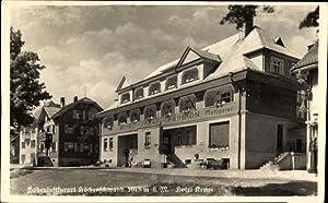 Ansichtskarte / Postkarte Höchenschwand, Hotel Krone, Pension,