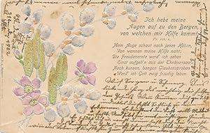 Präge Ansichtskarte / Postkarte Psalm 121, 1,